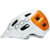 POC Trabec Race Kask pomarańczowy/biały